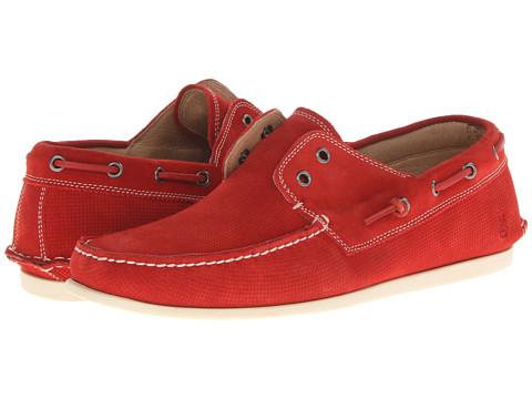 Pantofi John Varvatos - Schooner Boat - Firebrick