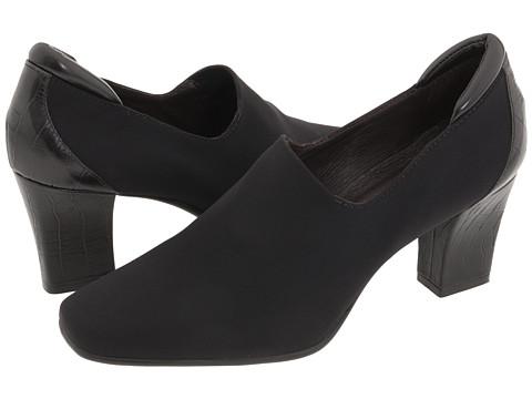 Pantofi Donald J Pliner - Ramla2 - Black Crepe Elastic