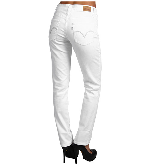 Blugi Levis - Mid Rise Skinny Jean - White Reflection