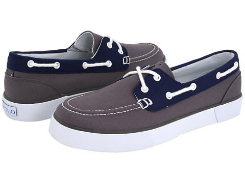 Pantofi Polo Ralph Lauren - Lander - Grey/Navy/White