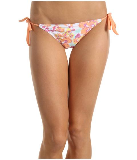 Costume de baie ONeill - Flower Tie Side Bottom - Peach