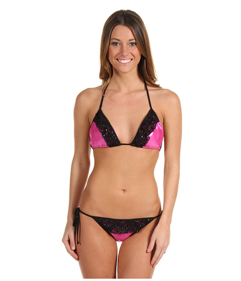 Lenjerie Promiscuous - Tatiana - Hot Pink/Black