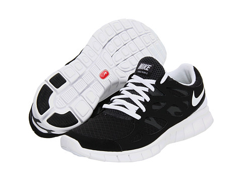 Adidasi Nike - Free Run+ 2 - Black/Anthracite/White