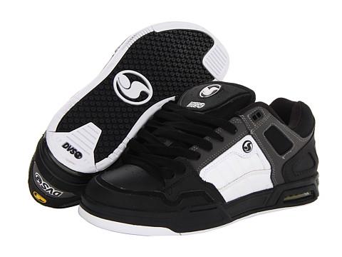 Adidasi DVS Shoe Company - Throttle - Black/White Nubuck FA 13