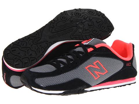 Adidasi New Balance - WL442 - Black/Pink 2