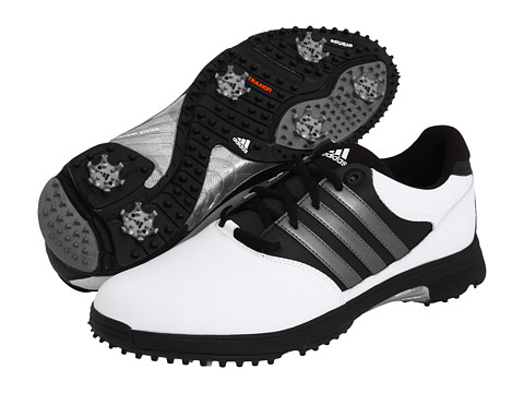 Adidasi adidas Golf - adiComfort 2 - White/Black/Dark Silver Metallic
