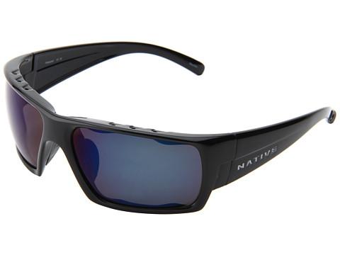 Ochelari Native Eyewear - Gonzo - Iron/ Blue Reflex (Gray) Lens