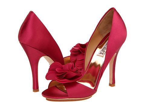 Pantofi Badgley Mischka - Randall - Antique Rose Satin