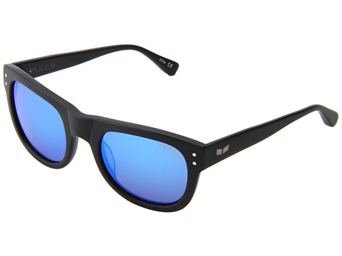 Ochelari Vestal - Himalayas - Matte Black/Blue Mirror/Silver