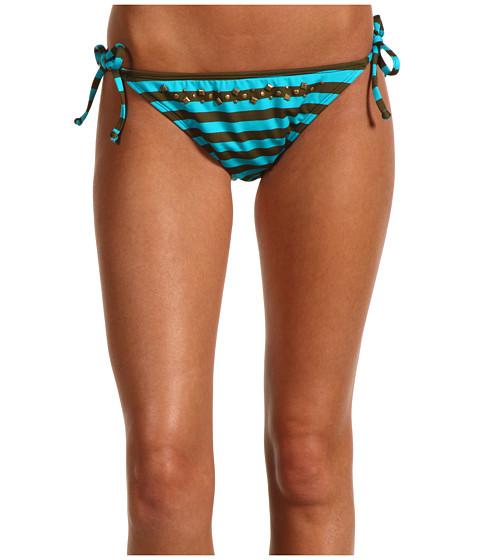 Costume de baie Ella Moss - Cabana Stripe Tie Side - Teal