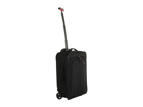 Genti de voiaj Victorinox - Werks Travelerâ⢠4.0 - WT Ultra Light Slim Wheeled Boarding Upright Carry-On - Black/Black
