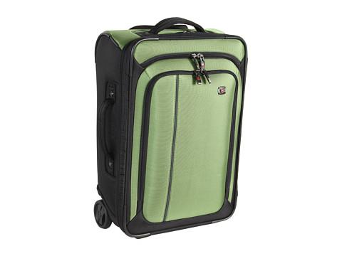 Genti de voiaj Victorinox - Werks Travelerâ⢠4.0 - WT Ultra Light Slim Wheeled Boarding Upright Carry-On - Emerald/Black