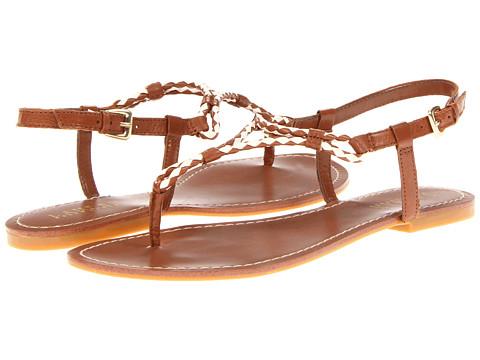 Sandale LAUREN Ralph Lauren - Alexa - Polo Tan/Eggshell