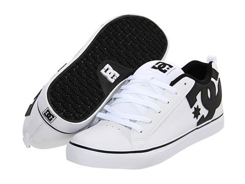 Adidasi DC - Court Vulc - White/Black