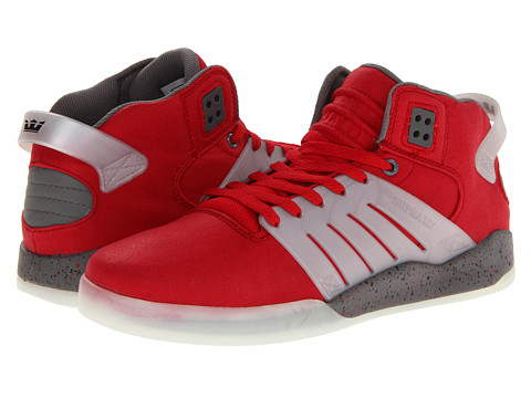 Adidasi Supra - Skytop III - Athletic Red/Grey/Silver