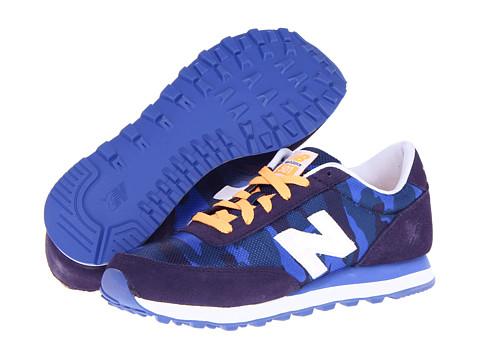 Adidasi New Balance - WL501 - Navy Camo Print Mesh