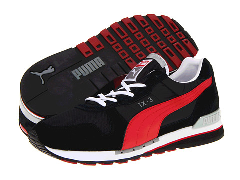 Adidasi PUMA - TX-3 - Black/Ribbon Red/White