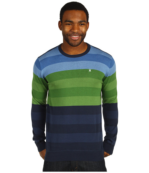 Bluze Hurley - Engine Sweater - Pacific Blue