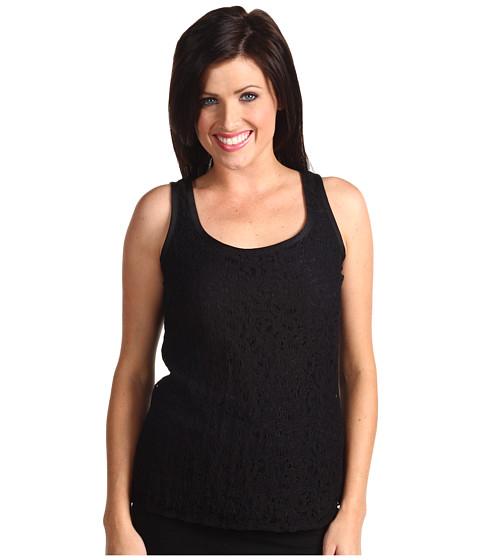 Bluze Anne Klein - Sleeveless Lace Tank Top - Black