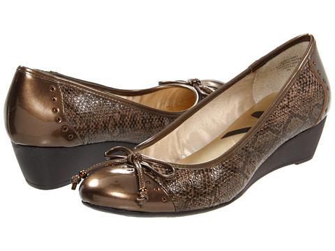 Pantofi AK Anne Klein - Shevanie - Bronze Snake