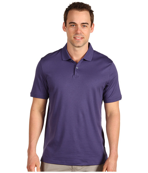 Tricouri Calvin Klein - S/S Two Button Polo - Purple Heron