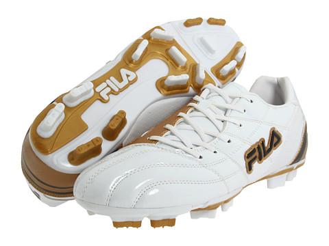 Adidasi Fila - Calcio 11 - White/Metallic Gold/Black