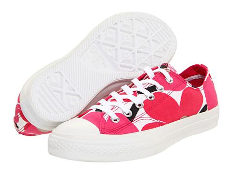 Adidasi Converse - Chuck TaylorÃ'® All StarÃ'® Marimekko - Red/White