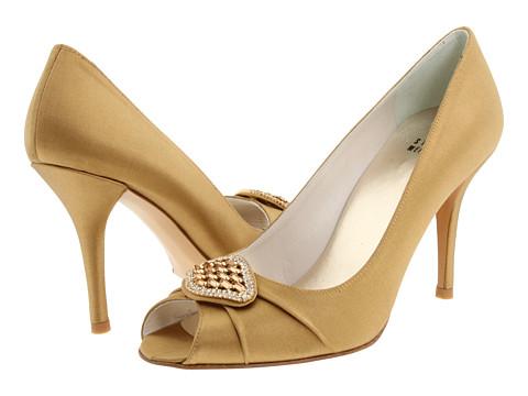 Pantofi Stuart Weitzman - Fofoso - Golden Satin