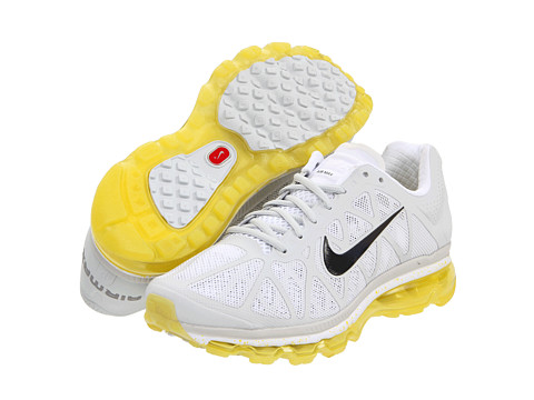 Adidasi Nike - Air Max+ 2011 - Pure Platinum/Sonic Yellow/White/Anthracite