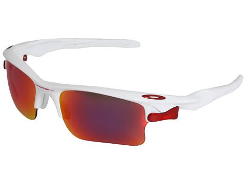 Ochelari Oakley - Fast Jacket⢠XL Polarized - Polished White/Red Iridium Lens