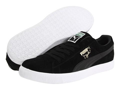 Adidasi PUMA - Clyde Script - Black/Black