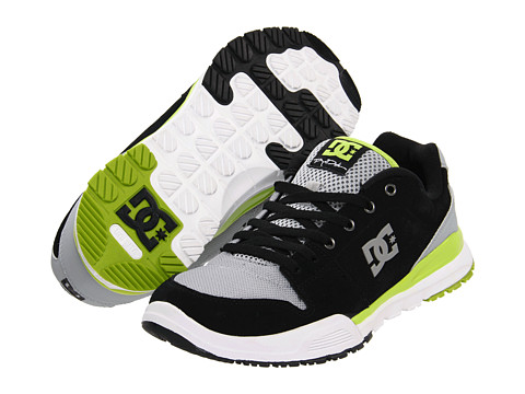 Adidasi DC - Alias Lite - Black/Armor/Soft Lime