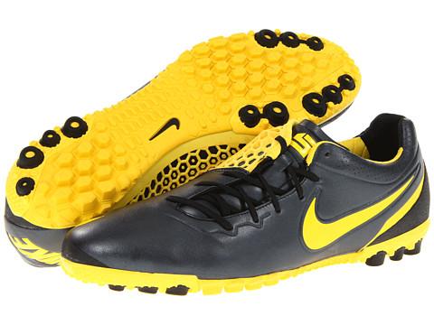 Adidasi Nike - Nike5 Bomba Finale - Black/Chrome Yellow