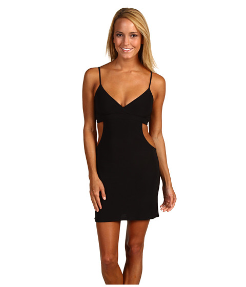 Rochii Promiscuous - Greer Open Side Dress - Black