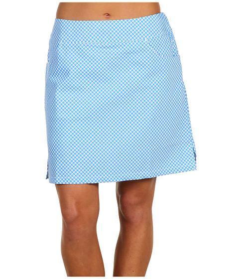 Pantaloni adidas Golf - ClimaLite Plaid Skort - White/Cosmic Blue/Stardust/Hibiscus