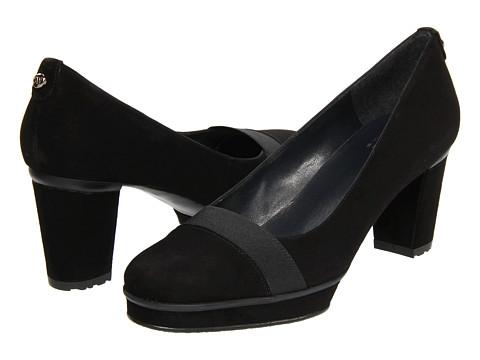 Pantofi Stuart Weitzman - Letsgo - Black Suede