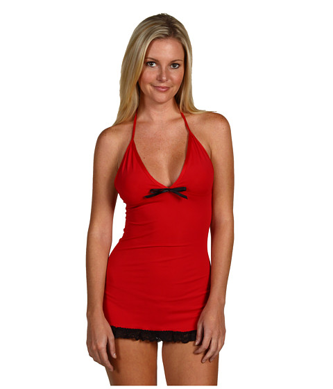 Lenjerie Promiscuous - Lamya - Red/Black