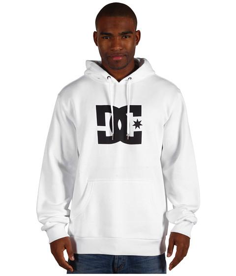 Bluze DC - Star Pullover Fleece Hoodie - White