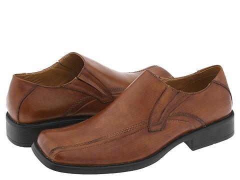 Pantofi Steve Madden - Exyte - Cognac Leather