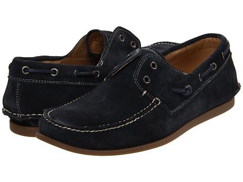 Pantofi John Varvatos - Schooner Boat - Officer Blue