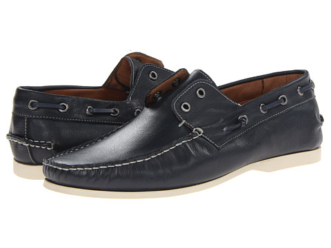 Pantofi John Varvatos - Schooner Boat - Officer Blue 14