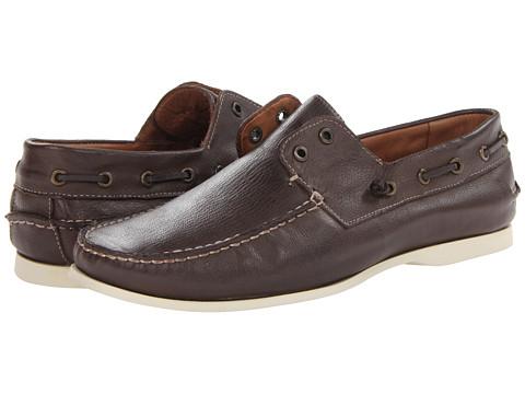 Pantofi John Varvatos - Schooner Boat - Dark Brown
