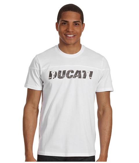 Tricouri PUMA - Ducati Logo Tee - White