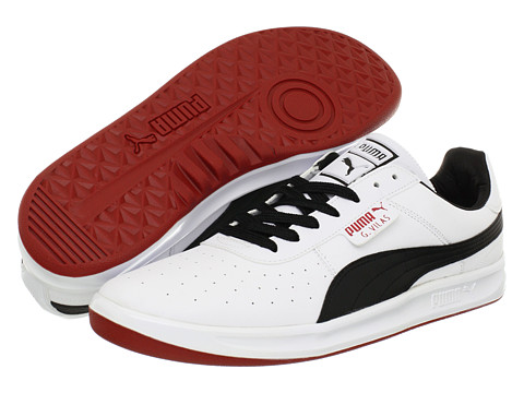 Adidasi PUMA - G. Vilas L2 - White/Black/Ribbon Red