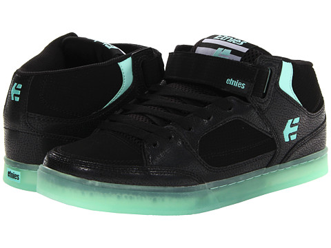 Adidasi etnies - Number Mid - Black/Mint