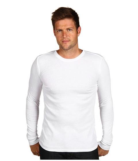 Tricouri Calvin Klein - Body L/S Crew Neck PJ Top - White