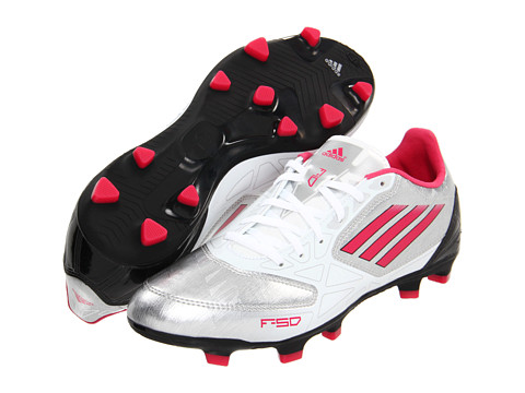 Adidasi adidas - F10 TRX FG W - Metallic Silver/Bright Pink/Black
