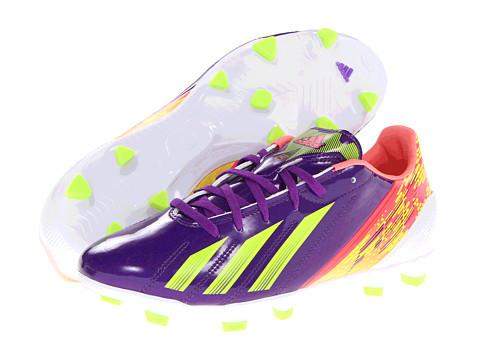 Adidasi adidas - F10 TRX FG W - Blast Purple Metallic/Electricity/Red Zest