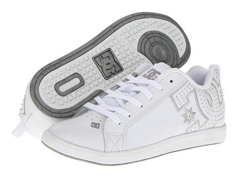 Adidasi DC - Court Graffik UniLite W - White/Silver