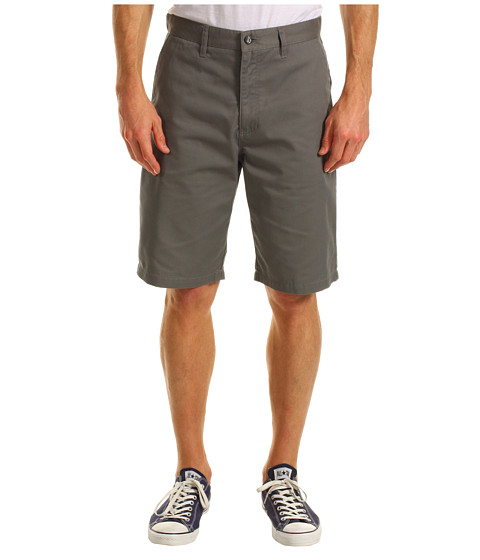 Pantaloni Volcom - Relaxed Fit Frickin Too Chino Short - Pewter